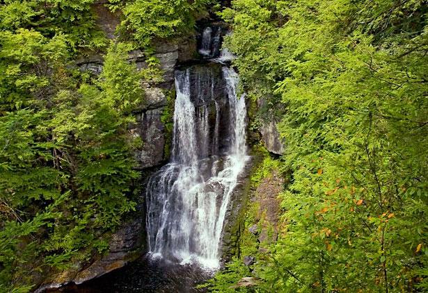 Bushkill Falls, Pocono Waterfall