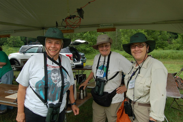 Bird Team at the 2013 Upper Delaware BioBlitz